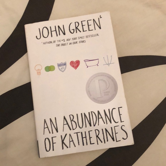 AN ABUNDANCE OF KATHERINES- John green